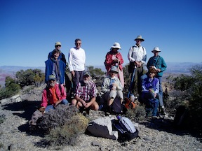 Howard Booth Reunion hiking group