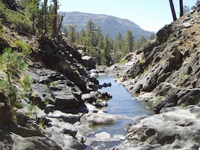 Five Lakes Gorge, Granite Chief Wilderness