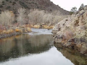 pool in the Carson River Canyon