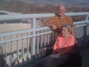 Ruth & Dan Allison on the O'Callaghan-Tillman Bridge
