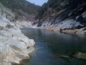 Hoyt Pool on the South Yuba River