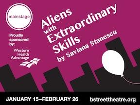 Aliens with Extraordinary Skills playbill