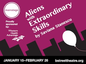 Aliens with Extraordinary Skills playbill