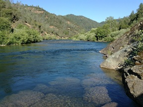 Middle Fork American River at Maine Bar