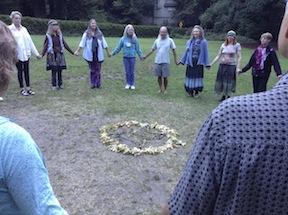 morning circle dance