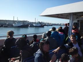 San Francisco Bay Ferry, Oakland to San Francisco