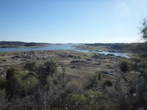 Folsom Reservoir draw-down