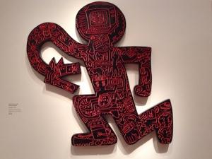 Keith Haring art at FAMSF de Young