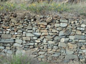 wall of North Fork Ditch at Oregon Bar