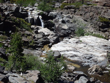 Picayune Creek waterfall